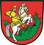 Aufkleber St. Georgen im Schwarzwald Wappen