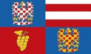 Flagge Südmähren Region