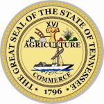 Aufkleber Tennessee Siegel Seal