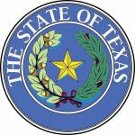 Aufkleber Texas Siegel Seal