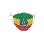 Gesichtsmaske Behelfsmaske Mundschutz Äthiopien