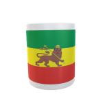 Tasse Äthiopien mit Löwe