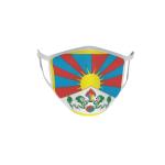 Gesichtsmaske Behelfsmaske Mundschutz Tibet L