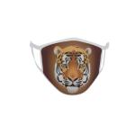 Gesichtsmaske Behelfsmaske Mundschutz  Tiger 23