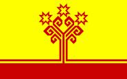 Flagge Tschuwaschien