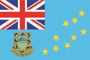 Aufkleber Tuvalu Staatsflagge