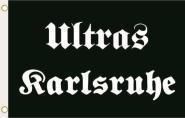 Fahne Ultras Karlsruhe 90 x 150 cm