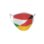 Gesichtsmaske Behelfsmaske Mundschutz Ungarn-Deutschland L