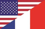 Flagge USA - Frankreich