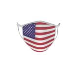 Gesichtsmaske Behelfsmaske Mundschutz USA L