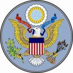 Aufkleber USA Siegel Seal