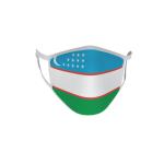 Gesichtsmaske Behelfsmaske Mundschutz Usbekistan