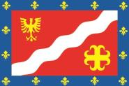 Flagge Val d´Oise Department