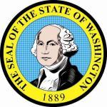 Aufkleber Washington Siegel Seal