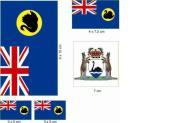 Aufkleberbogen Westaustralien