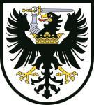 Aufkleber Westpreussen Wappen Preussen