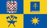 Flagge Zlin Region