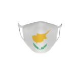 Gesichtsmaske Behelfsmaske Mundschutz Zypern