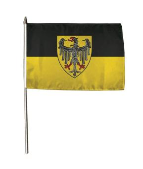 Stockflagge Aachen 30 x 45 cm