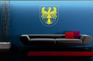 Wandtattoo Aachen Wappen