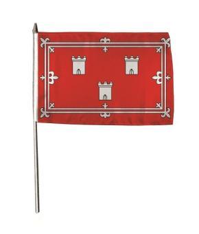 Stockflagge Aberdeen 30 x 45 cm