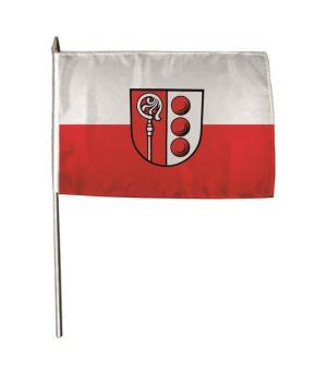 Stockflagge Abtsgmünd 30 x 45 cm