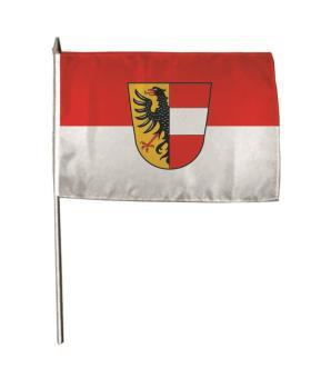 Stockflagge Achern 30 x 45 cm