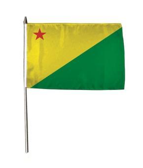 Stockflagge Acre Brasilien 30 x 45 cm