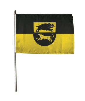 Stockflagge Adelberg 30 x 45 cm