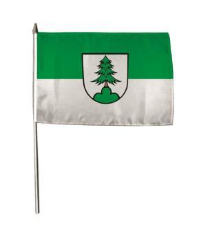 Stockflagge Adelsmannsfelden 30 x 45 cm