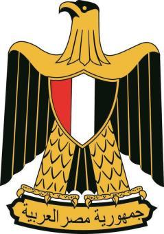 Aufkleber Ägypten Wappen