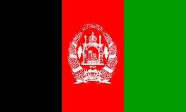 Fahne Afghanistan 60 x 90 cm