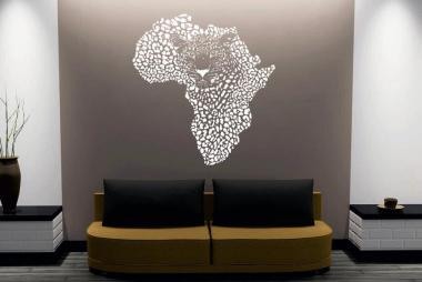Wandtattoo Afrika Giraffe