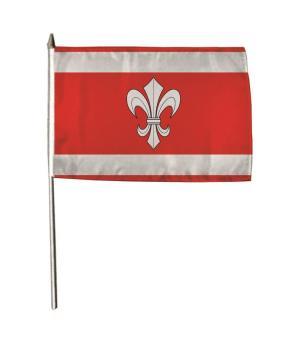 Stockflagge Ahnatal 30 x 45 cm