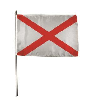 Stockflagge Alabama 30 x 45 cm
