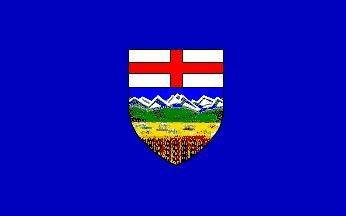Fahne Alberta 30 x 45 cm