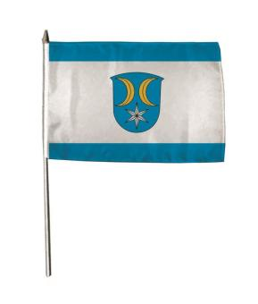 Stockflagge Allendorf (Eder) 30 x 45 cm