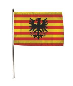 Stockflagge Alpen 30 x 45 cm