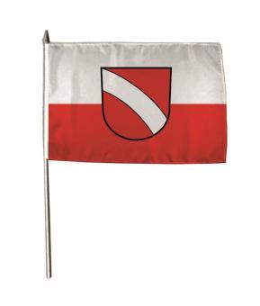 Stockflagge Altbach 30 x 45 cm