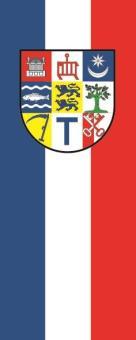 Flagge Angeln im Hochformat