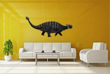Wandtattoo Ankylosaurus Color 1