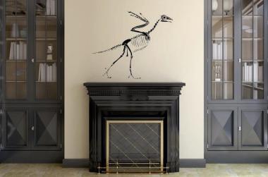 Wandtattoo Archaeopteryx Skelett