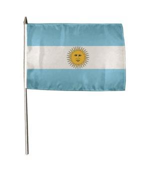 Stockflagge Argentinien 30 x 45 cm