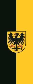 Flagge Arnstadt im Hochformat
