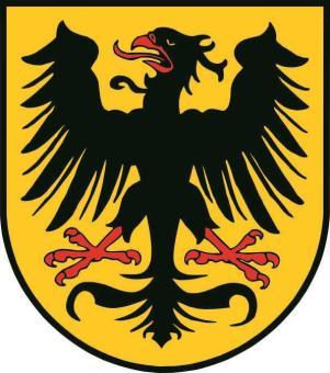 Aufkleber Arnstadt Wappen
