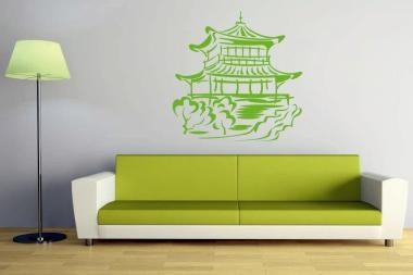 Wandtattoo Asia Tempel Motiv Nr. 3
