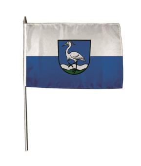 Stockflagge Au am Rhein 30 x 45 cm