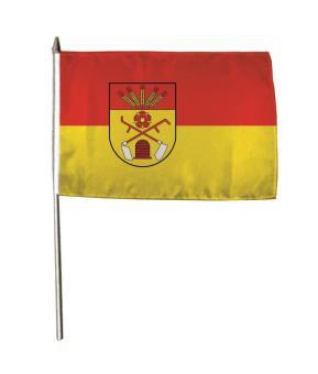 Stockflagge Augustdorf 30 x 45 cm