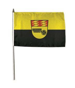 Stockflagge Aulendorf 30 x 45 cm
