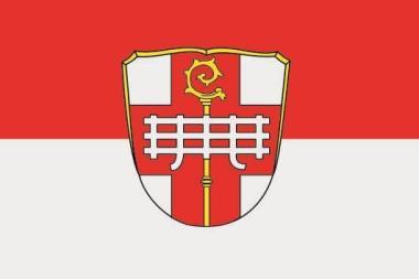 Flagge Aura an der Saale